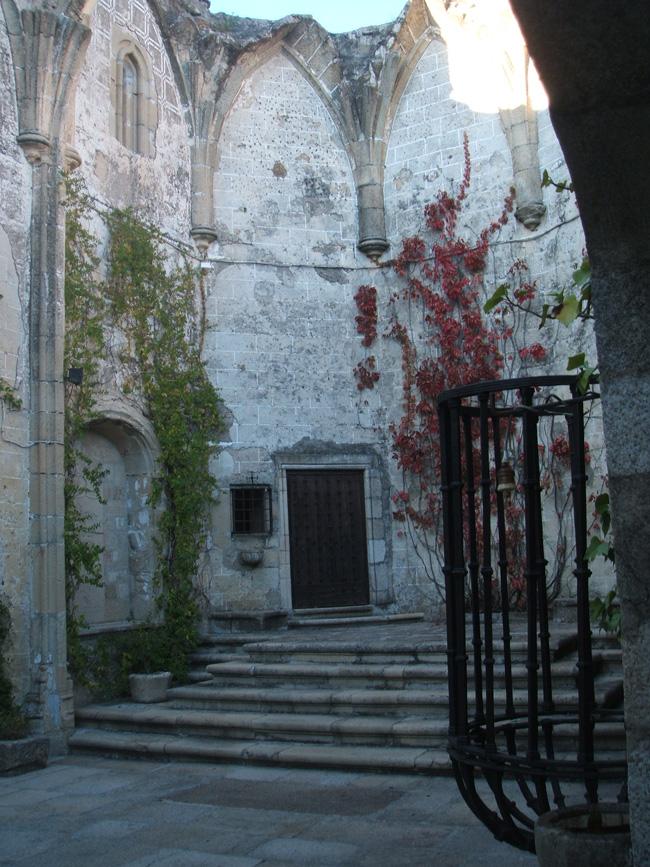 Jard n del convento de la coria en trujillo paisaje libre for Jardin del convento