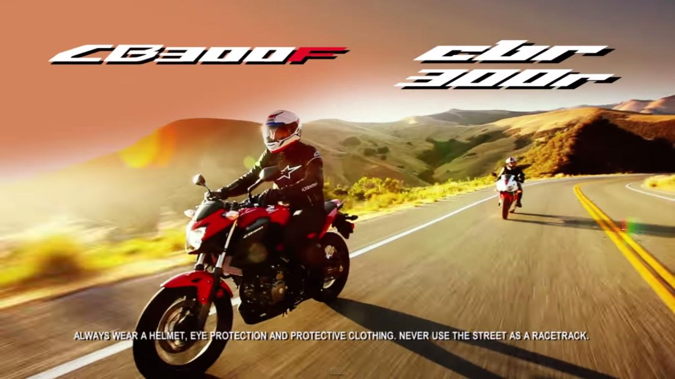 Inilah pesan yang seharusnya ada pada setiap iklan motor sport . . .