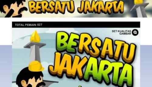 Bersatu Jakarta, Game Foke Tandingan Selamatkan Jakarta Jokowi