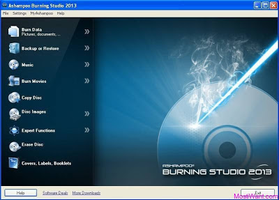 Ashampoo Burning Studio 2013 Serial Key Free Full Version Download