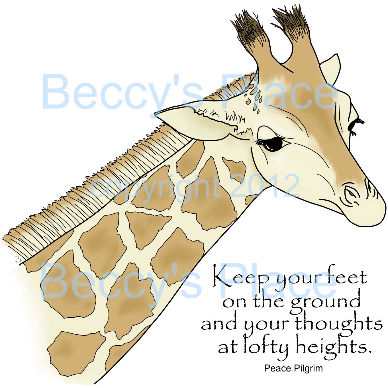 Giraffe Quotes Tumblr   www.pixshark.com - Images ...