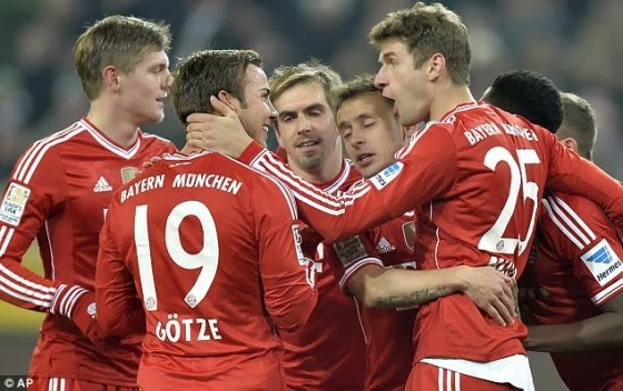 Prediksi Bayern Munchen vs Manchester United � Liga Champion 10 April 2014
