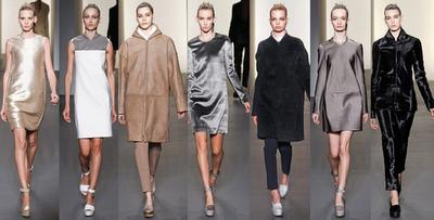 NYFW Calvin Klein 2011-2012 herbst/Winter Modeachau