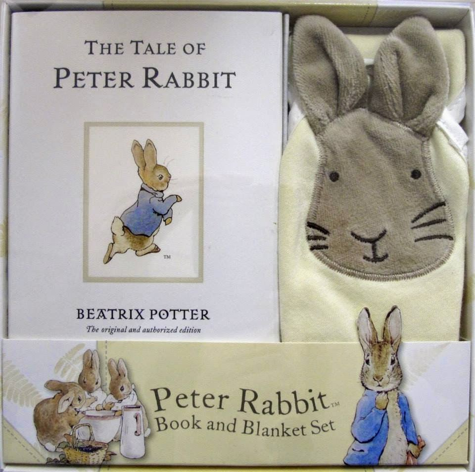 Peter Rabbit Baby Gift Sets : Gift set peter rabbit book and blanket ninos