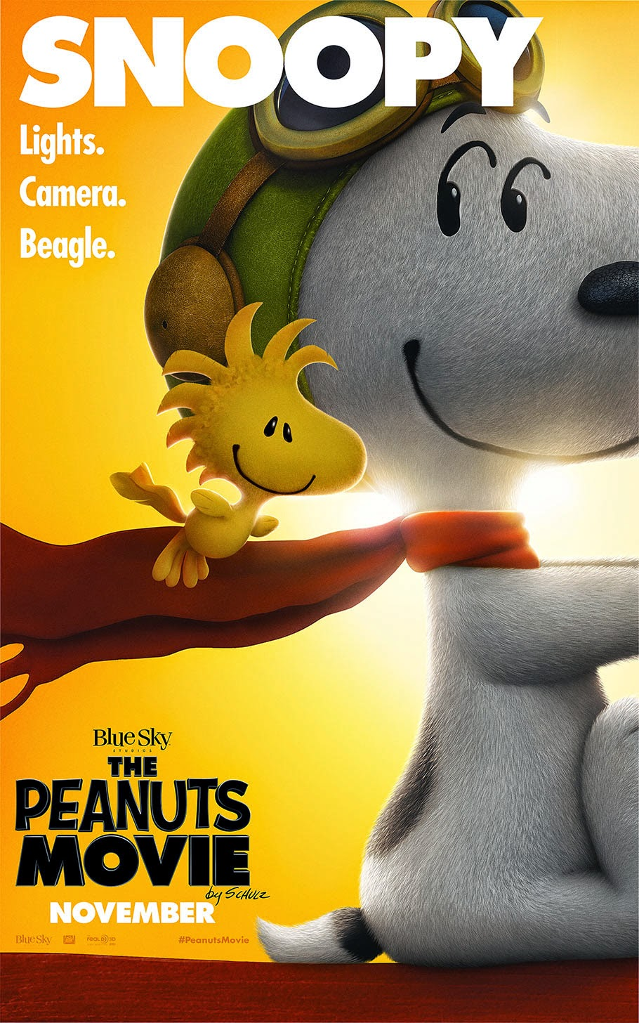 Cartoon Brew Has A Story About The New Series Of PEANUTS Movie Posters That Fox Just Released And Why Characters Look So Hyper Detailed In Them