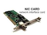 PENGERTIAN NIC/LAN CARD