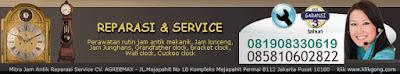 PERAWATAN SERVICE 085810602822 JAM ANTIK