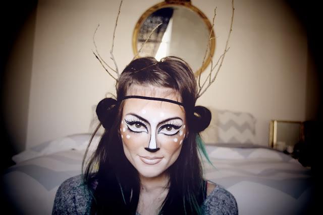 Chrix Design Couture Deer Makeup