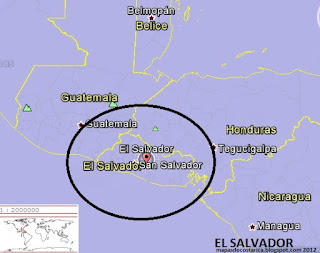 EL SALVADOR, google earth