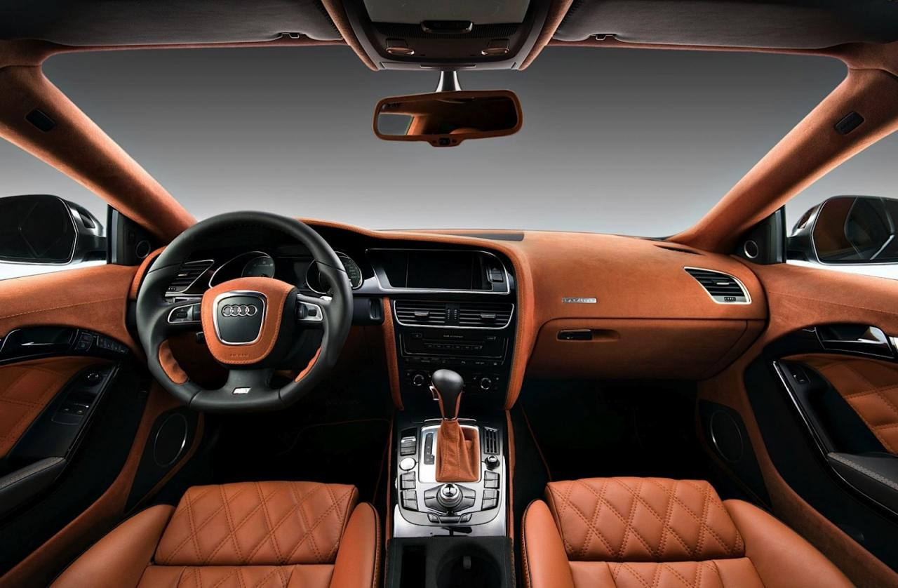 Audi S5 With Restyled Interior By Vilner Car Tuning Styling