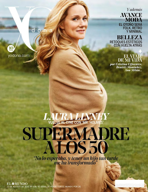 Actress, Singer @ Laura Linney - Yo Dona Spain, August 2015