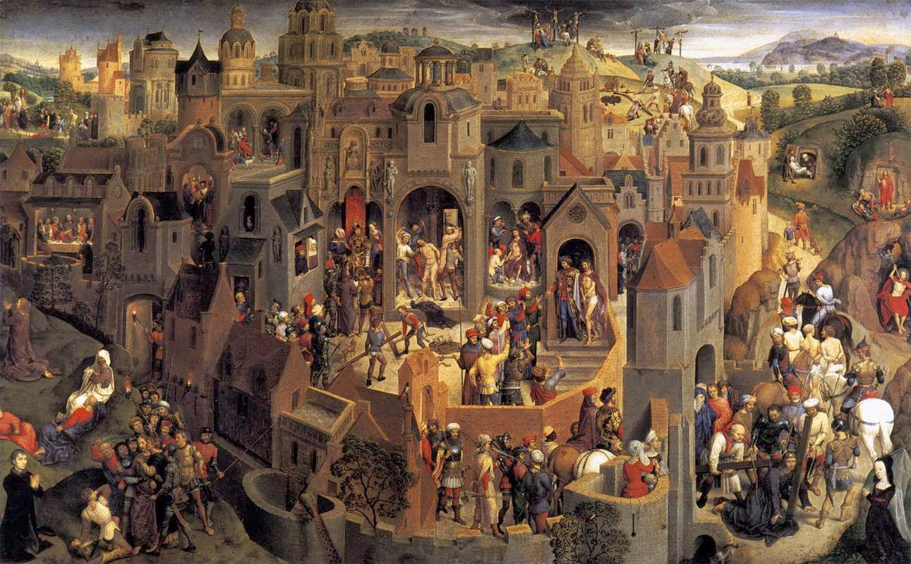 Describe Jan Van Eyck S Painting Technique And Style Brainly