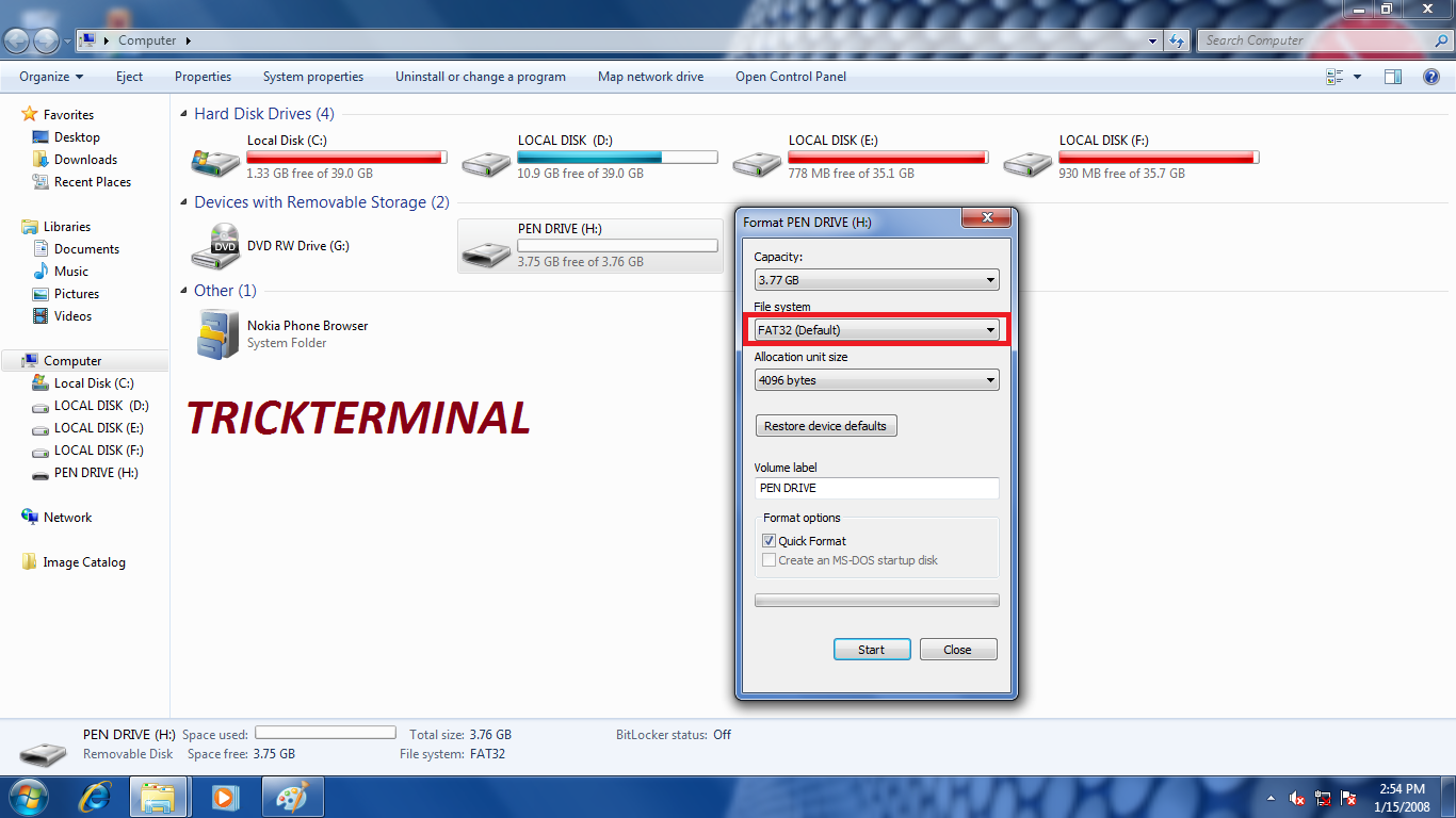 how to usb pen drive make bootable