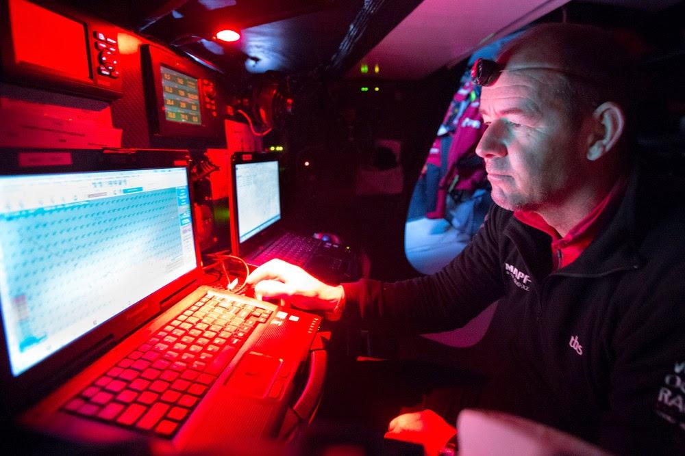 Appelé en urgence pour remplacer Nicolas Lunven, Jean-Luc Nélias finira la Volvo Ocean Race avec Mapfre.