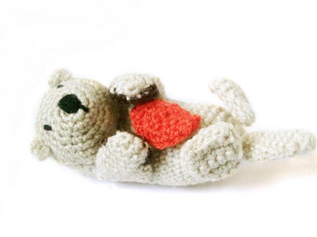 Yoda Amigurumi Pattern Free : Sea Otter - Amigurumi Pattern Mysterious Cats Crochet ...