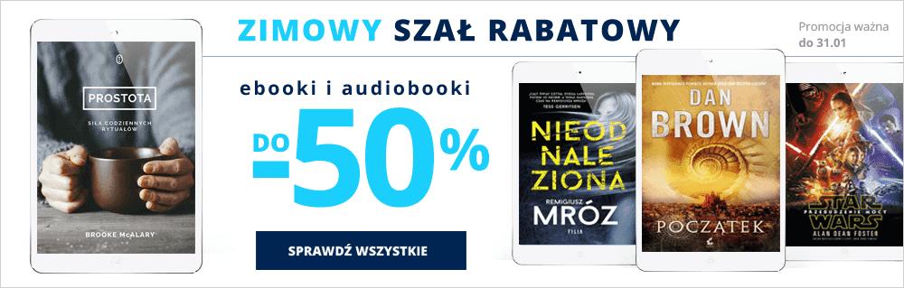 Zimowy szał rabatowy Ebooki i audiobooki do -50% na Virtualo.pl