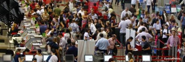 Pocket Hobby - www.pockethobby.com - #HobbyTrip - Desembarque Complicado - Cumbica - Aeroporto Internacional de Guarulhos -