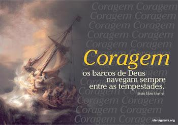 Coragem...