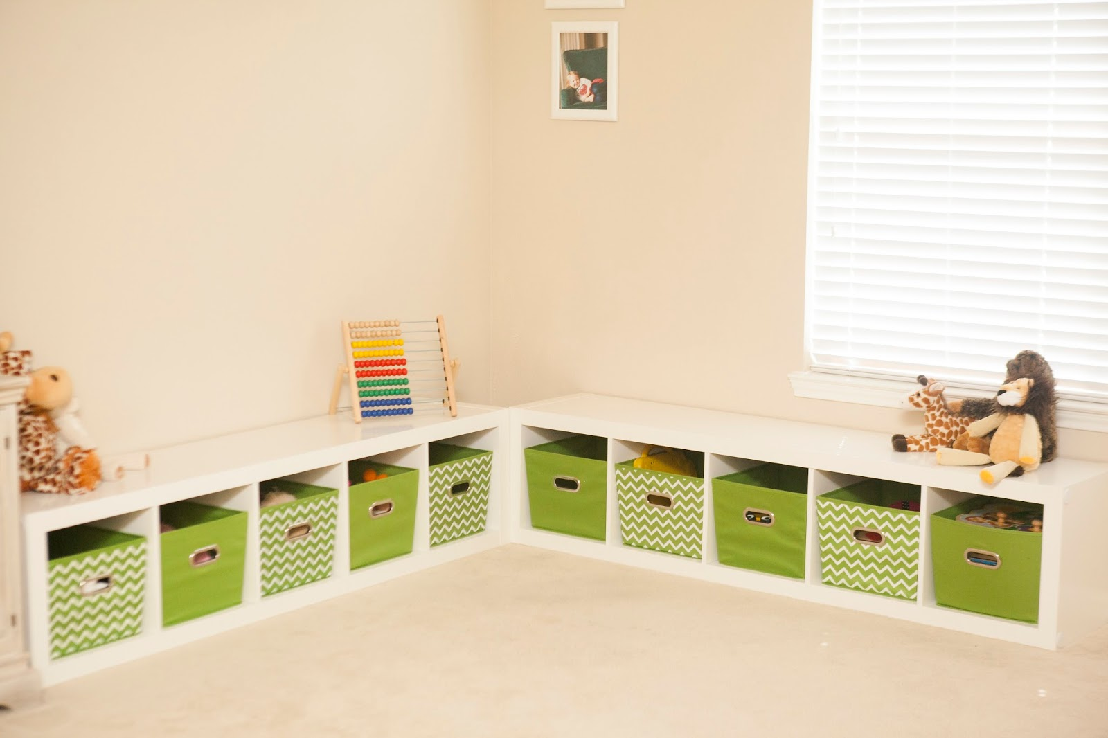 mybellabug playroom seating bench and storage