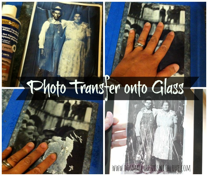 Gel For Transfering Photos To Glass