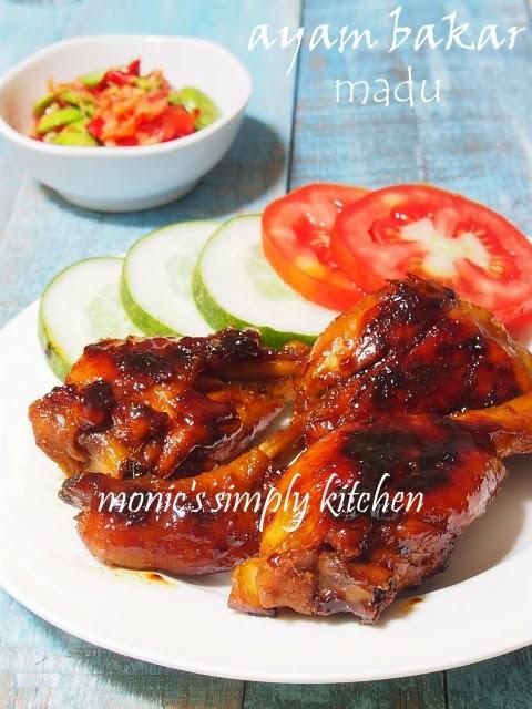 resep ayam bakar madu dengan teflon