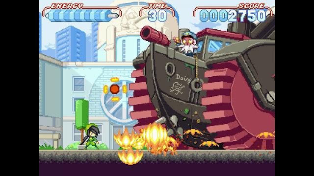 El plataformas de aventuras Noitu Love Devolution llegará a consolas Nintendo