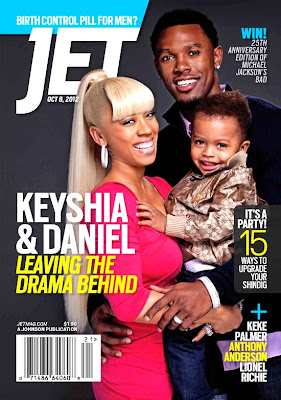Keyshia Cole and Daniel Gibson on Jet Magazine cover