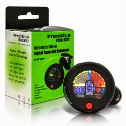 Precision Music Clip On Tuner and Metronome