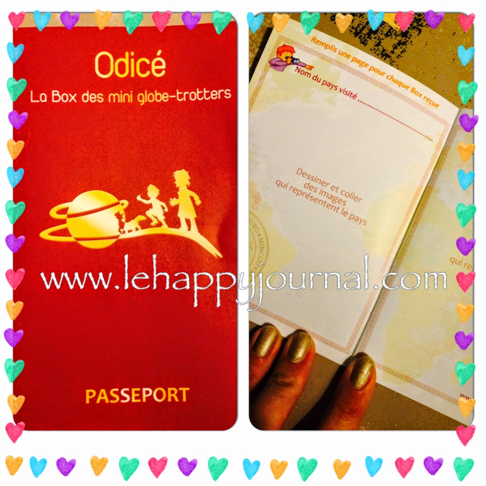 Box Odicé Thailande, Odicé, odice, box enfant, creatif, globe trotter, partenaire, happy journal, activité