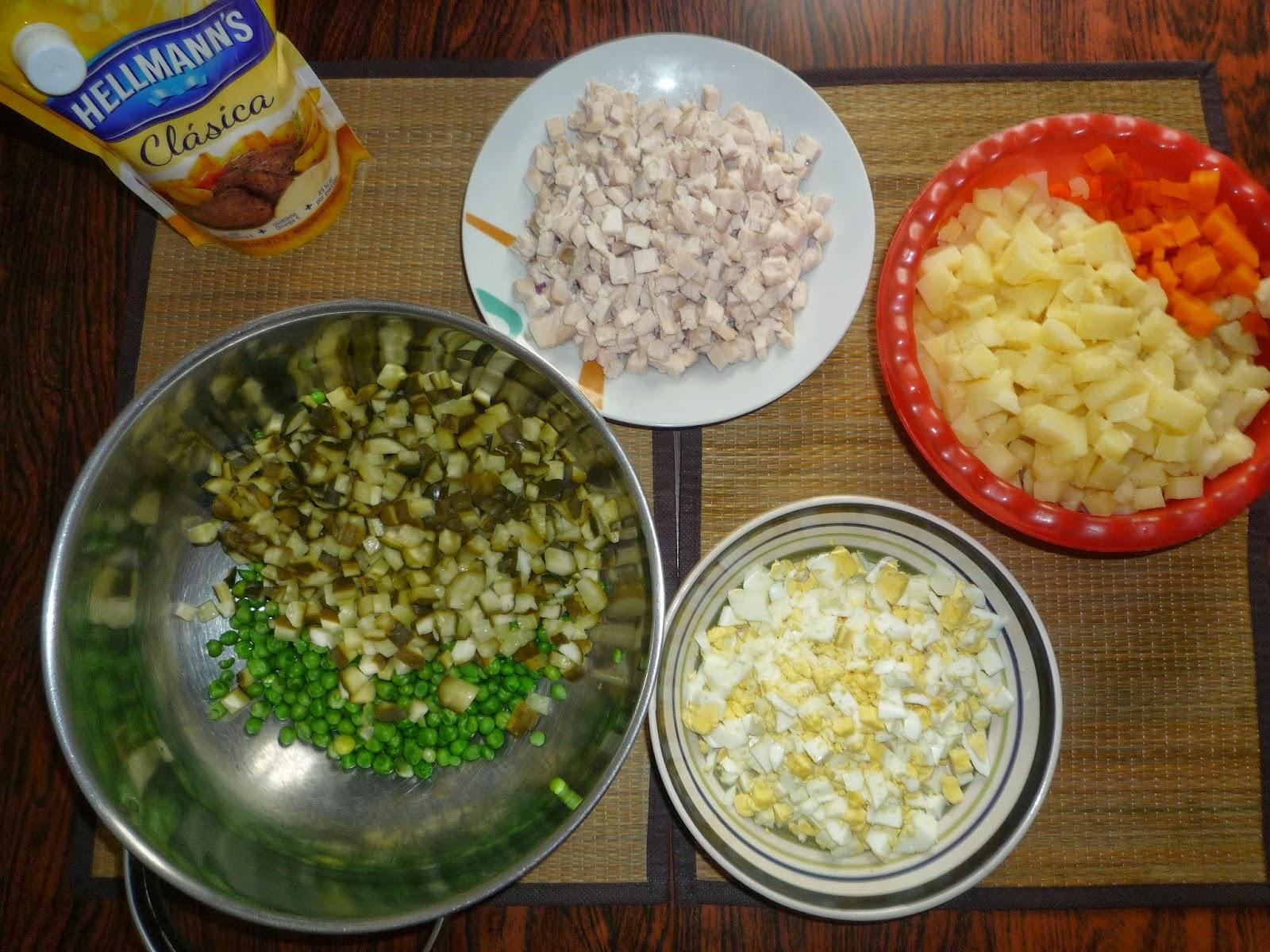 ensalada rusa