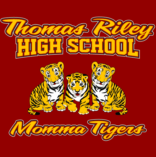 Thomas Riley High School Momma Tigers Hooded Sweaters