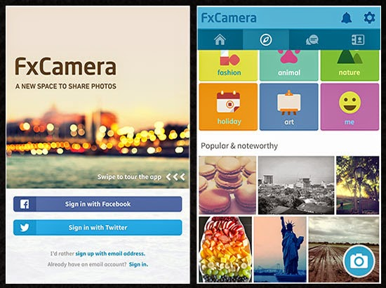 Aplikasi Kamera Android - FxCamera