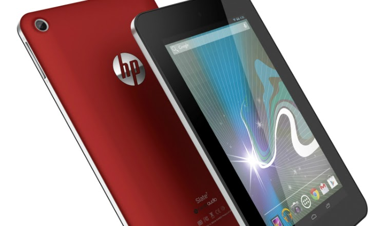 HP Slate7 packed with Google Android