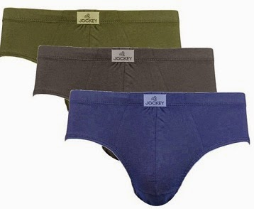 Buy 6 Pcs.Jockey Men's Poco Briefs (2 x Set of 3) – Assorted Color & White worth Rs.798 for Rs.548  with Free Shipping at Rediff