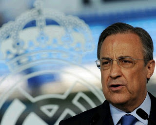 Florentino Perez Real Madrid President