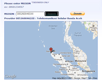 contok+lacak Cara Melacak Nomor HP di Indonesia (Telkomsel, XL, Indosat, dll)