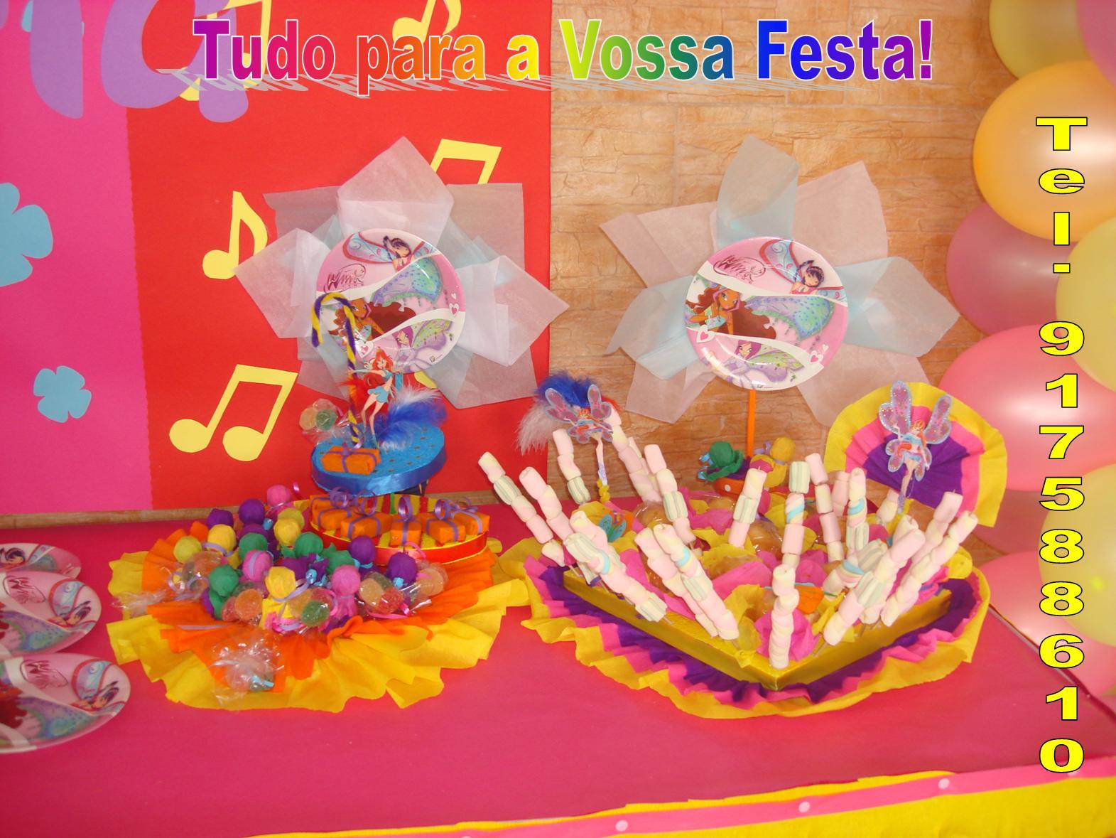 decoracao festa winx:Tudo para a Vossa Festa!!!!: Winx Cake!