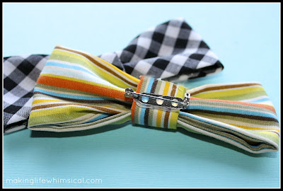 DIY Bow Tie Tutorial