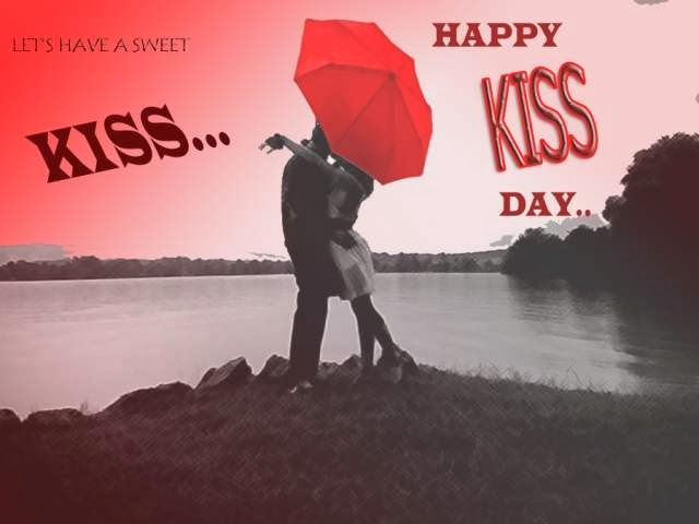 Best Wishes of Happy Kiss Day 2014