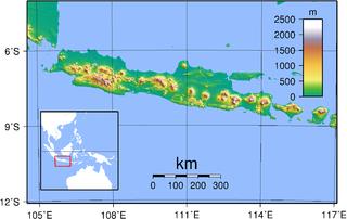 Gambar Peta Indonesia - Jawa