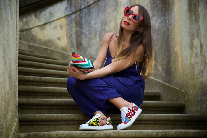 scarpe pop art