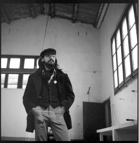 Carles Cañellas al taller de Gràcia 1978