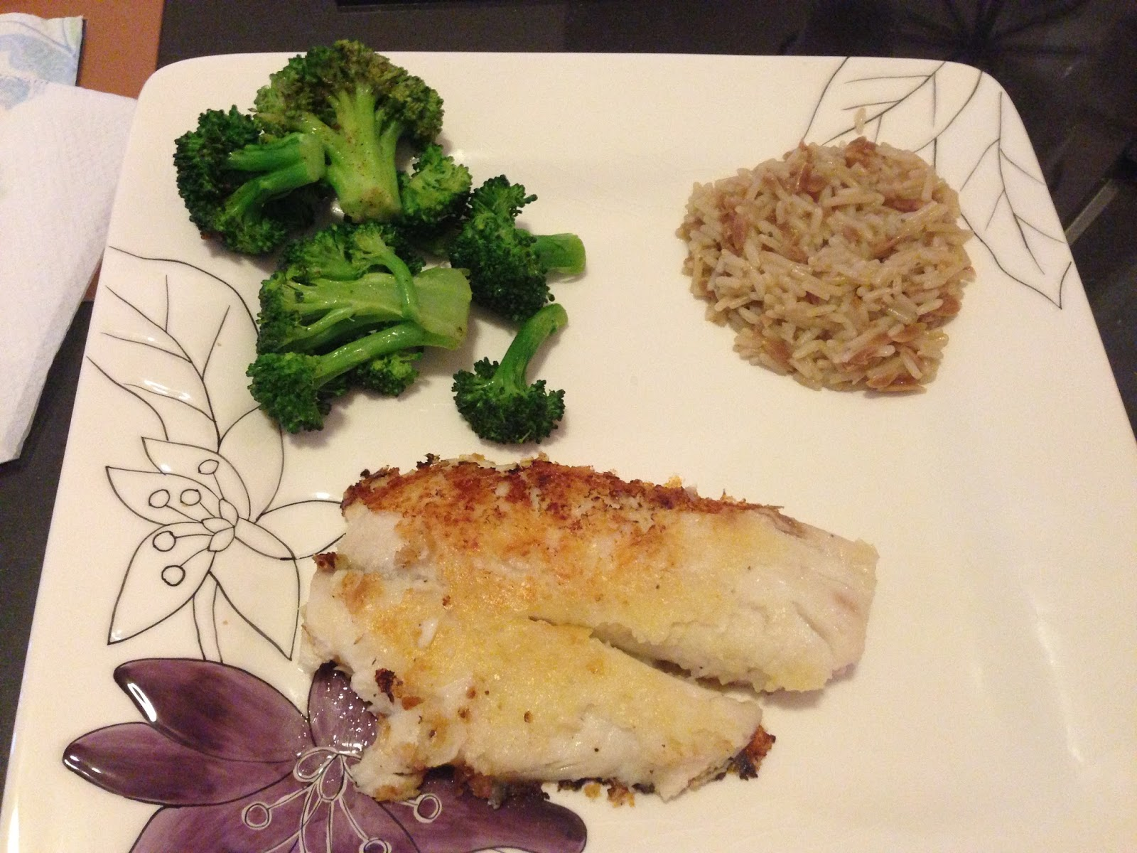 Once Upon A Run Recipe Potato Crusted Fish And Fresh