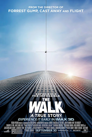 Poster Of The Walk 2015 In Hindi Dual Audio Bluray 720P Free Download
