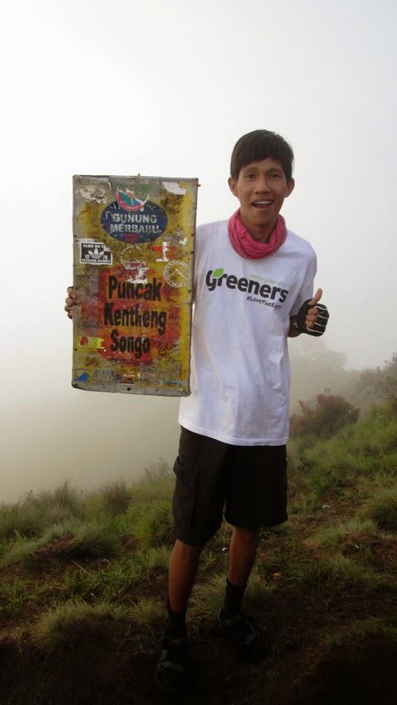 Di puncak Kenteng Songo, Gunung Merbabu