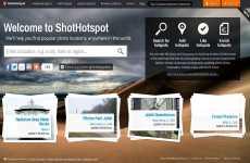 Buscar los mejores lugares para tomar fotos mediante Google Maps: ShotHotSpot