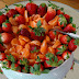 Des oranges et des fraises