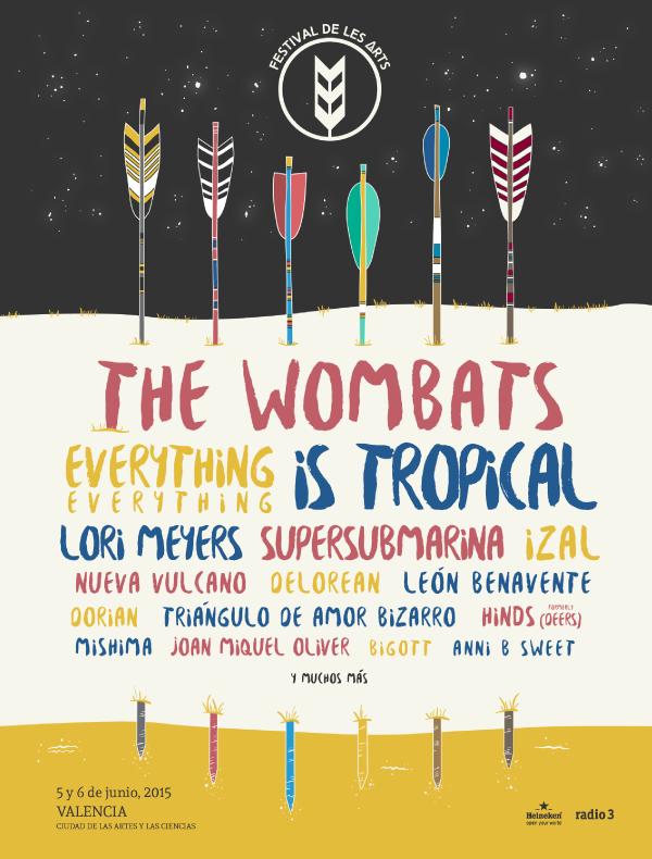 Festival De Les Arts 2015 cartel