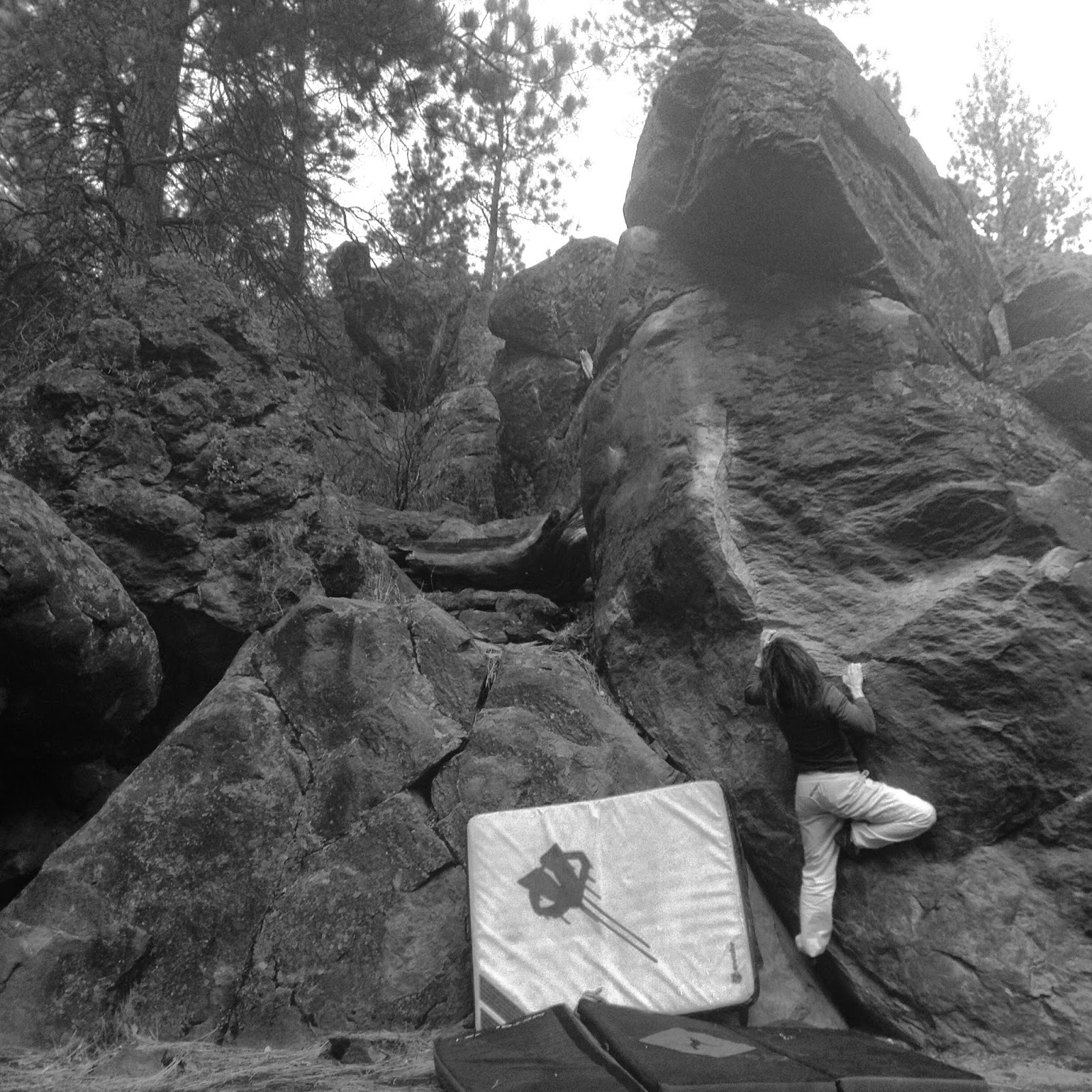 www.boulderingonline.pl Rock climbing and bouldering pictures and news Sending Sisters: Samantha Caligiuri