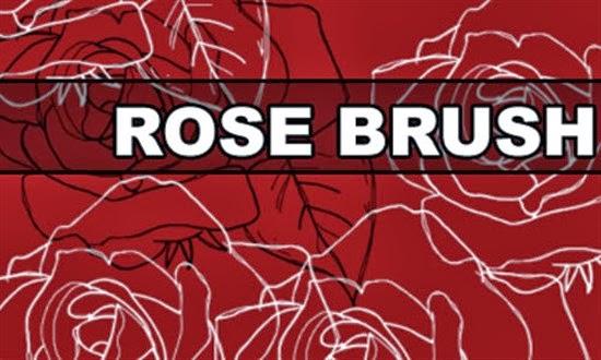 Rose Brush for Photoshop
